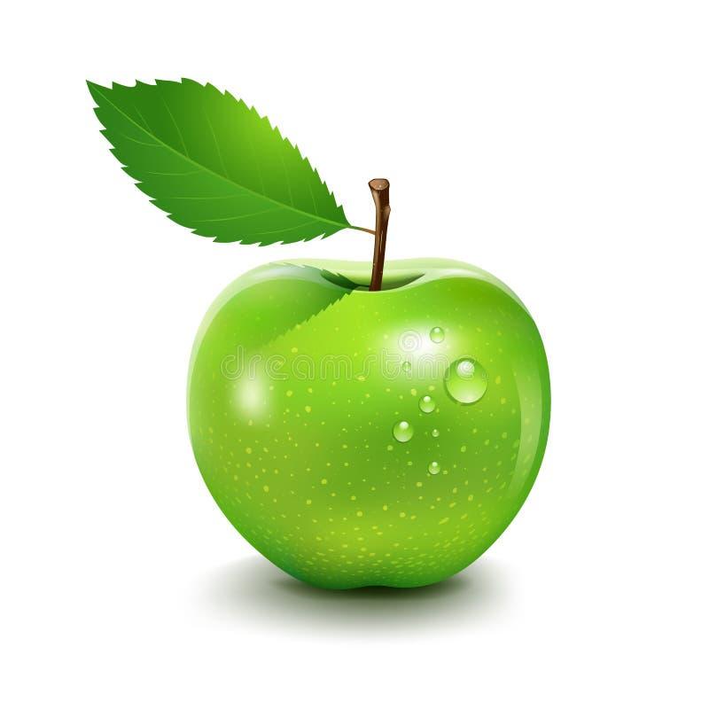 Zielony Apple ilustracji