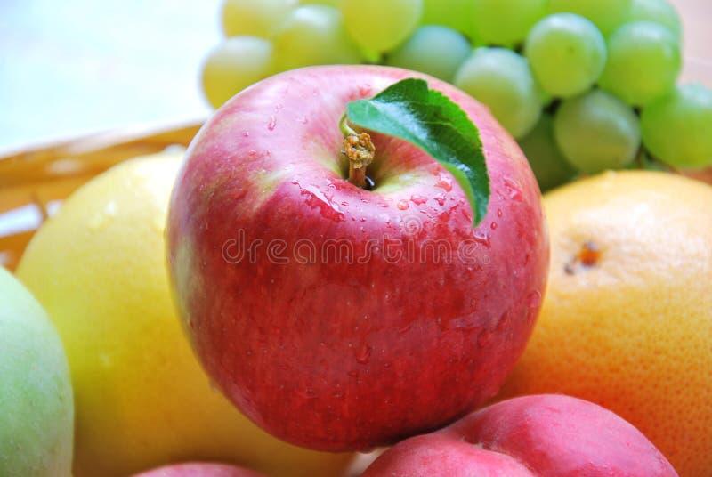 Apple i owoc zdjęcie royalty free