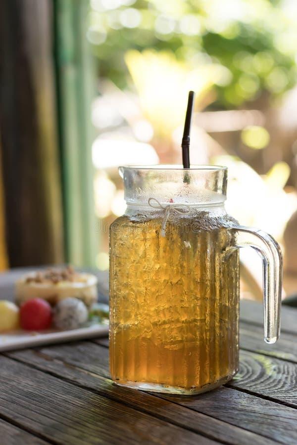 Apple ice tea royalty free stock photos