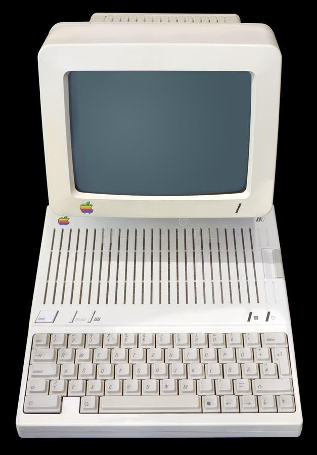Apple IIc fotografia de stock