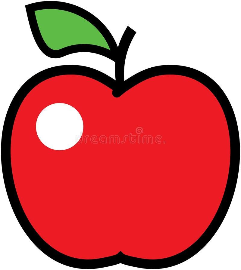 Download Apple -  illustration. stock vector. Illustration of fruity - 14573312