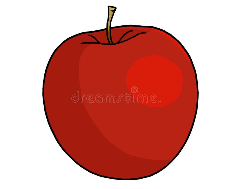 Apple Illustration vector illustration