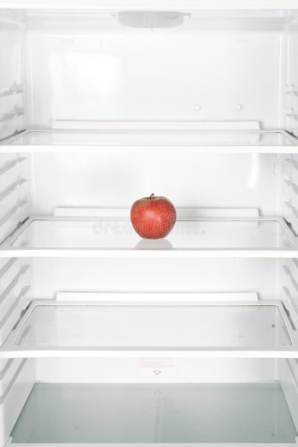Apple im Kühlraum stockfoto