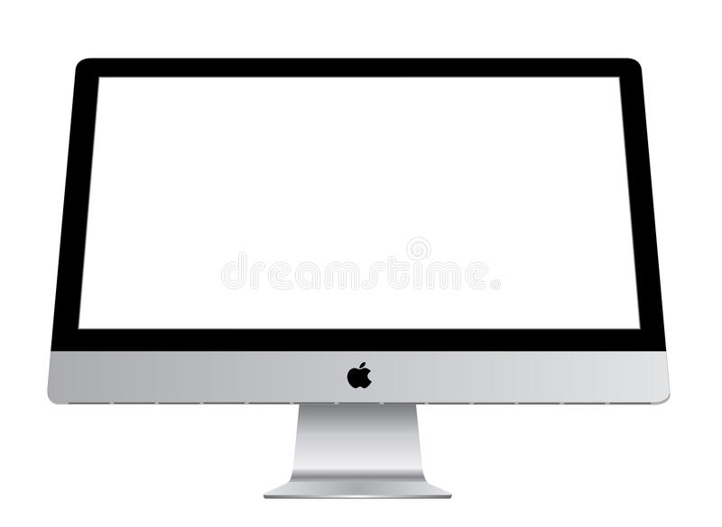 Apple iMac stock illustrationer