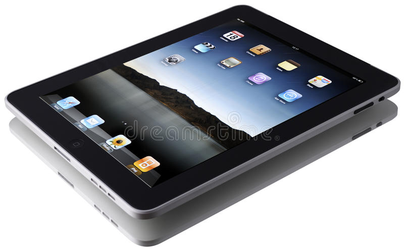 Download Apple iPad editorial stock image. Image of control, computer - 17342119