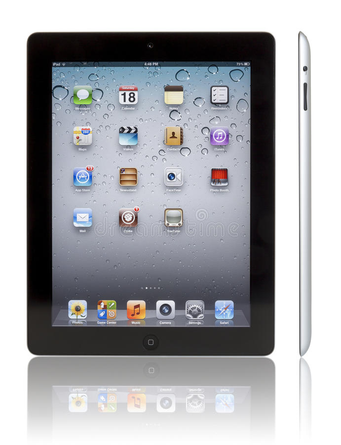 Apple iPad 3 royaltyfri bild