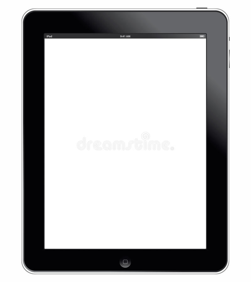 Download Apple IPad 3G With Clipping Path Editorial Image - Illustration: 18926390