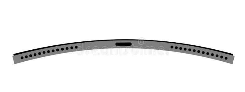 Apple-iPad Pro und Haltbarkeitsproblem - elektronisches Gerät verbiegt und faltet sich stock abbildung
