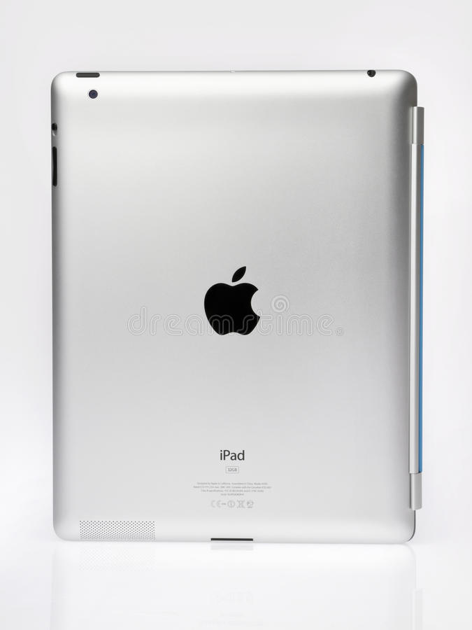 Apple Ipad2 Back View royalty free stock photo
