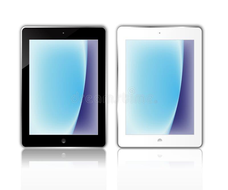 Apple iPadluft royaltyfri illustrationer
