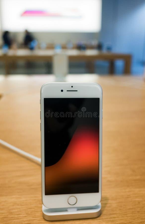 Apple-iPhone 8 stock afbeelding