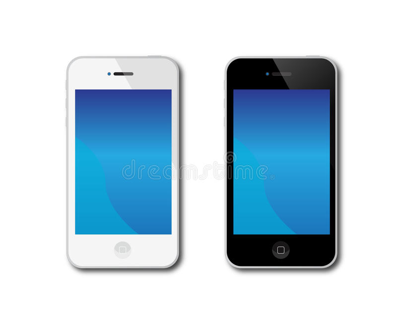 Apple Iphone 4 ilustração royalty free