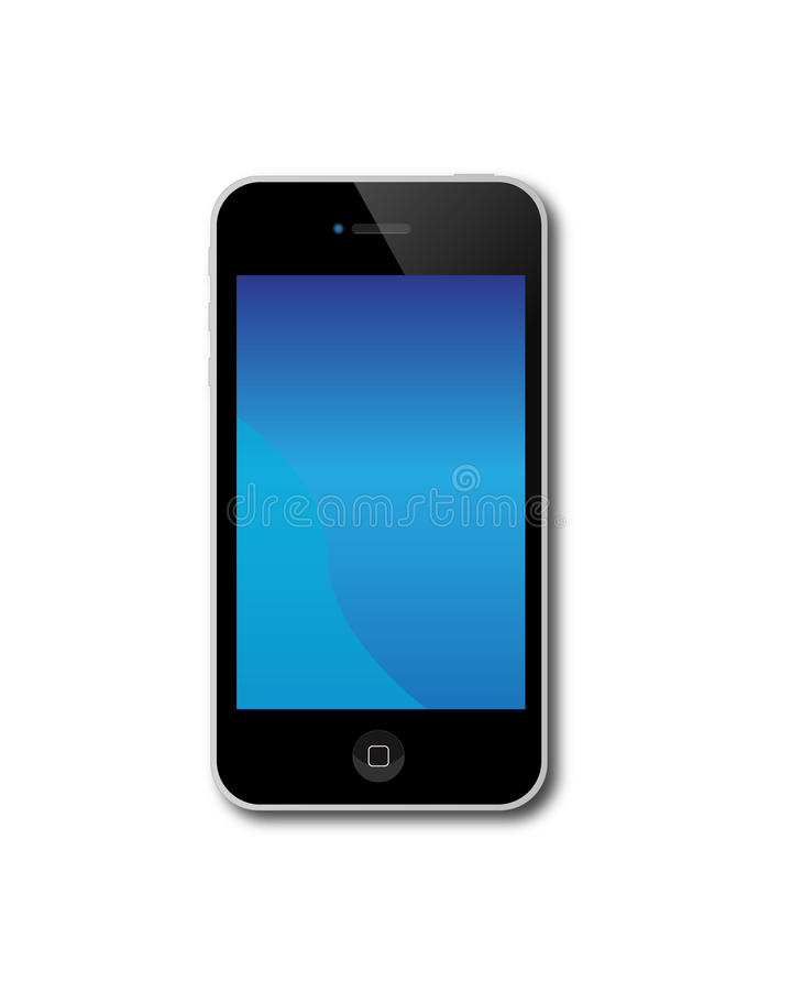 Apple Iphone 4S stock illustration