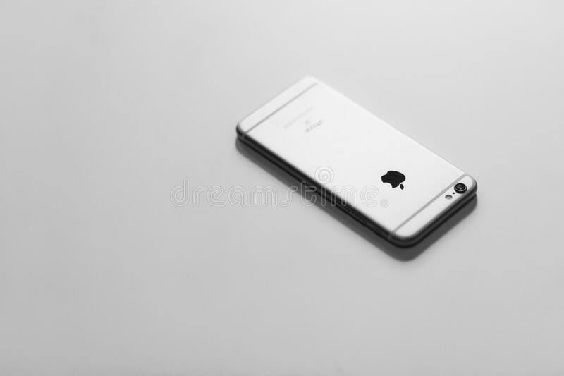 Apple iPhone royalty free stock images