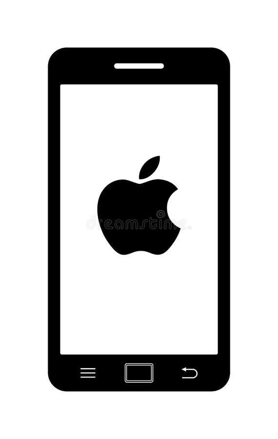 Apple iphone icon logo symbol vector illustration