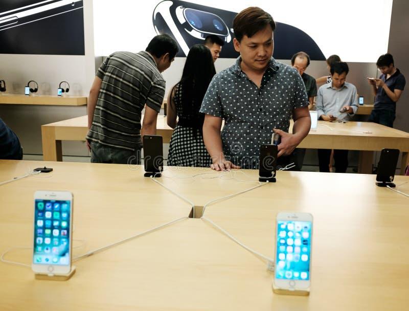 Apple iPhone 7 stock photos
