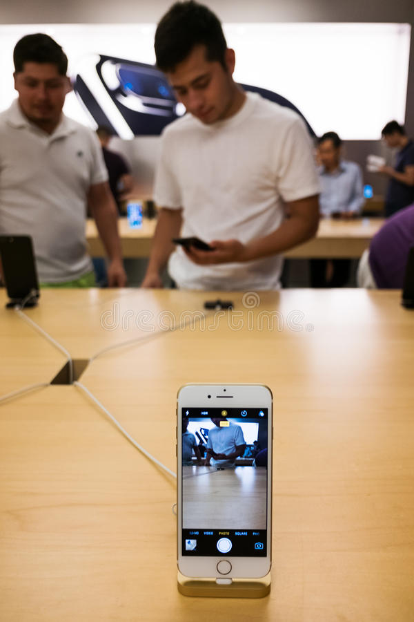 Apple iPhone 7 stock photography