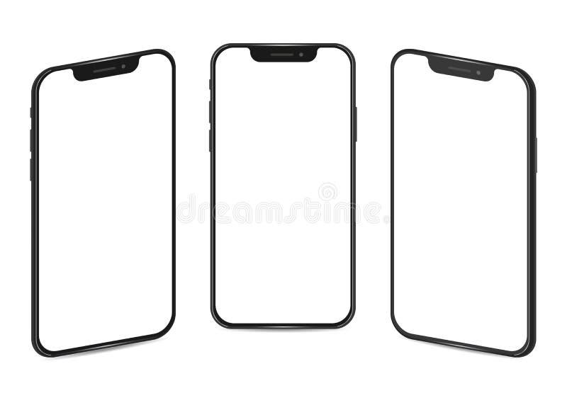 Apple iPhone 11 pro Smart Phone Touch Technologia światowa Kijów, Ukraina - 11 grudnia 2019 ilustracja wektor