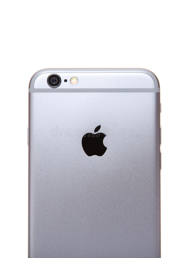 apple iphone 6 rear view editorial image image of. Black Bedroom Furniture Sets. Home Design Ideas