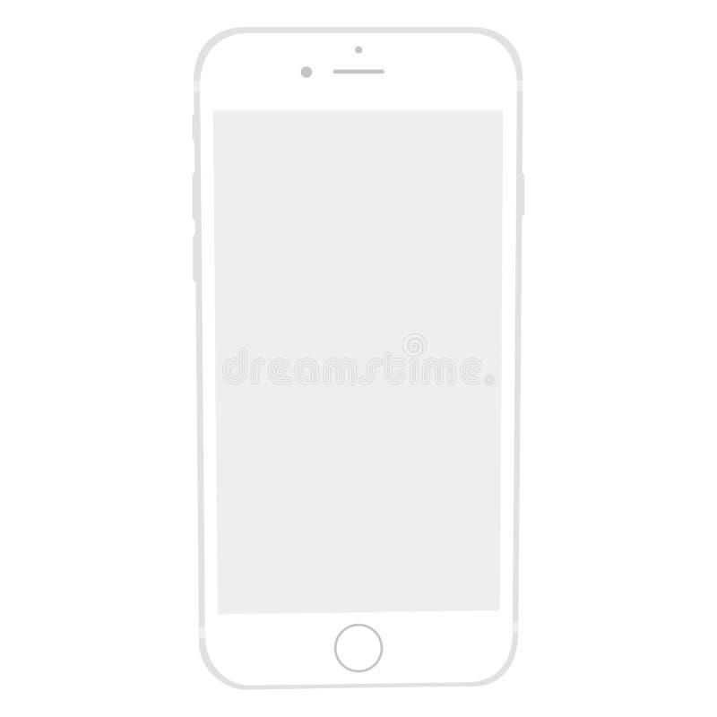 Apple-iPhone6s model vector illustratie