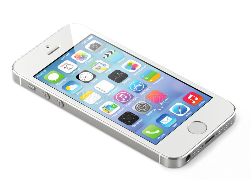 Apple iphone 5s royalty free stock photo
