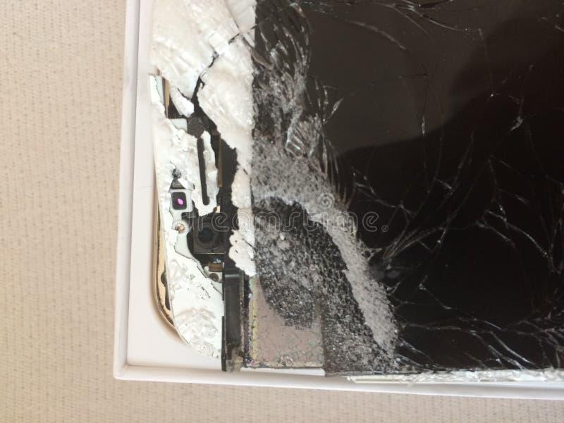 Apple iphoneexponeringsglas royaltyfri bild