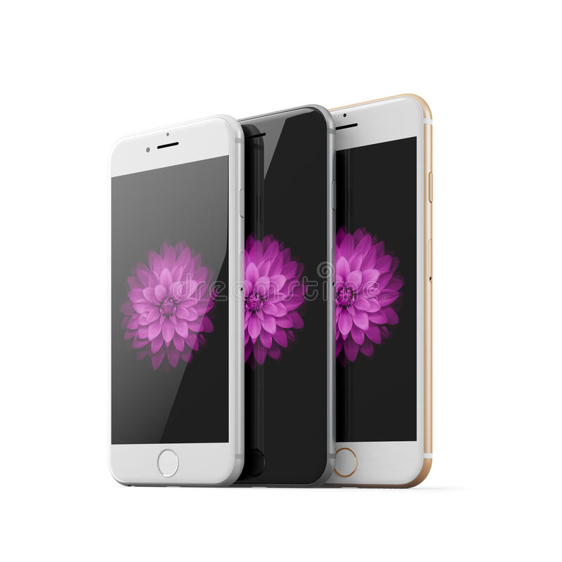 Apple iphones 6 stock photo