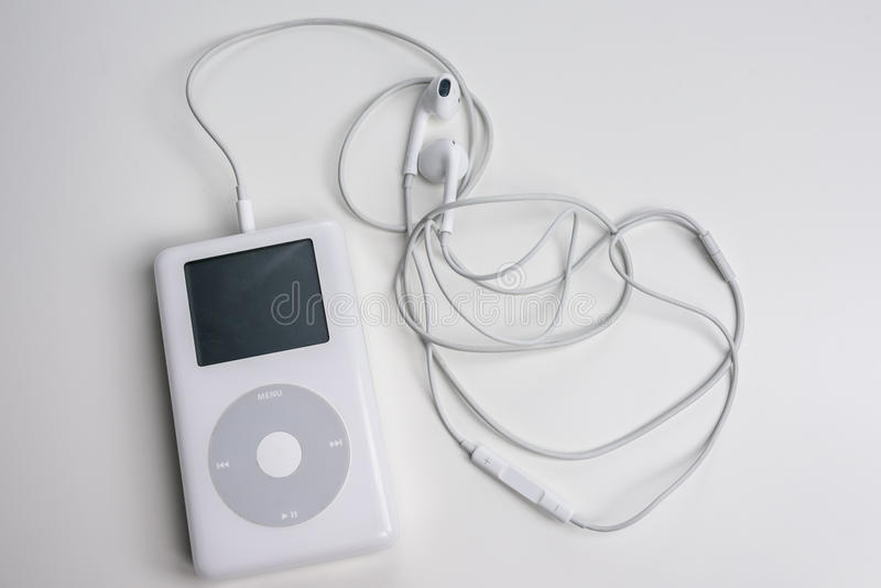 Apple iPod classic (4th Generation) royalty free stock photos