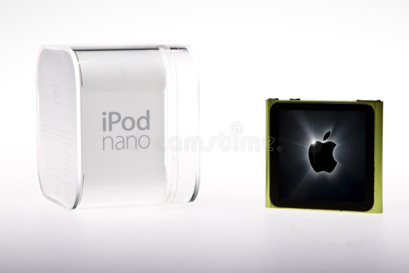 Apple iPod Nano royalty free stock photos