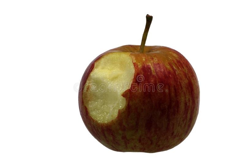 Download Apple isolated stock image. Image of health, nutrition - 8143325