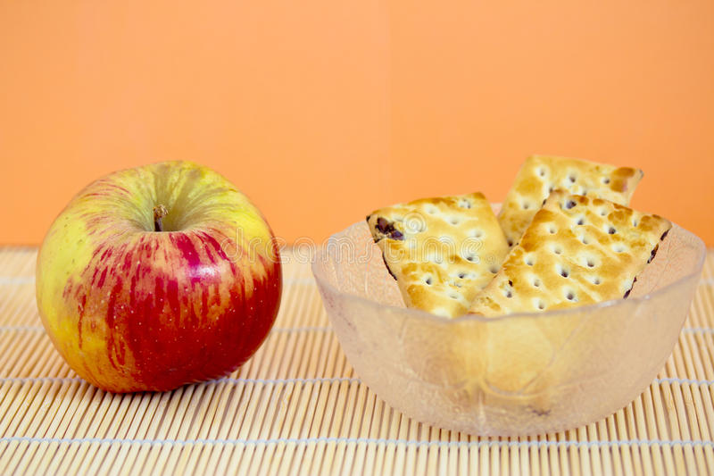 Download Apple and jam cookies stock photo. Image of winter, food - 28502410