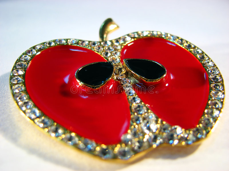 Apple jewellery royalty free stock images
