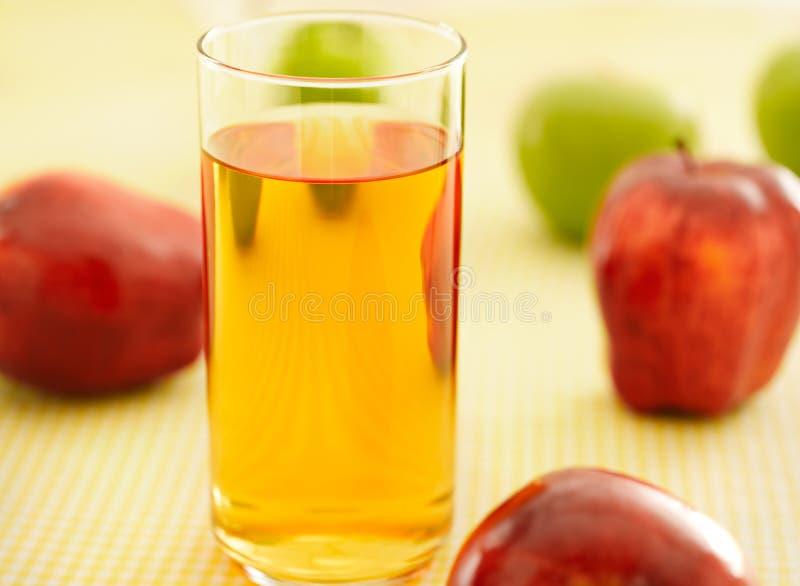 Apple juice stock images