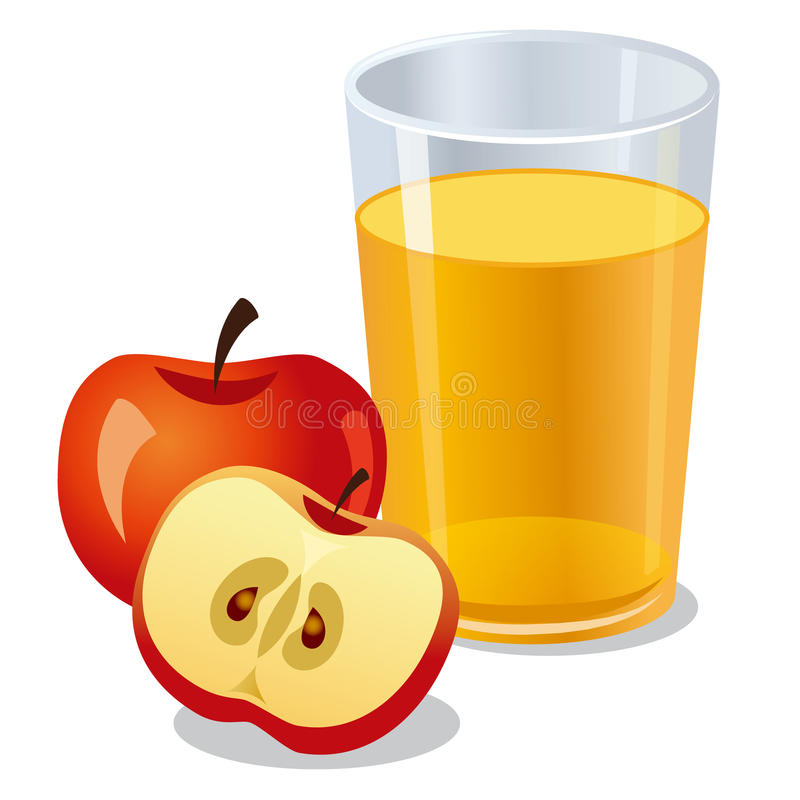 Stock Illustration Apple Juice Illustration Image57211544 on cup of juice clip art
