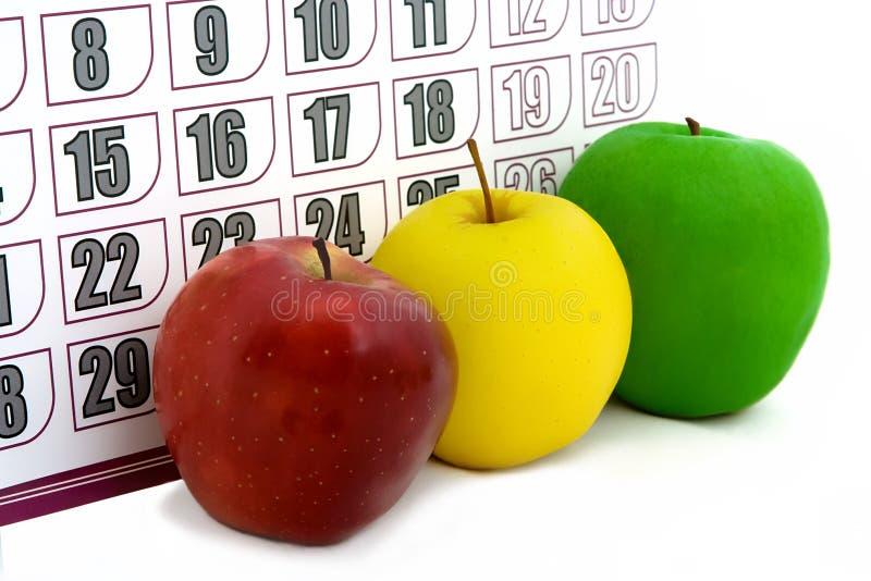 Apple-Kalender stockfotos