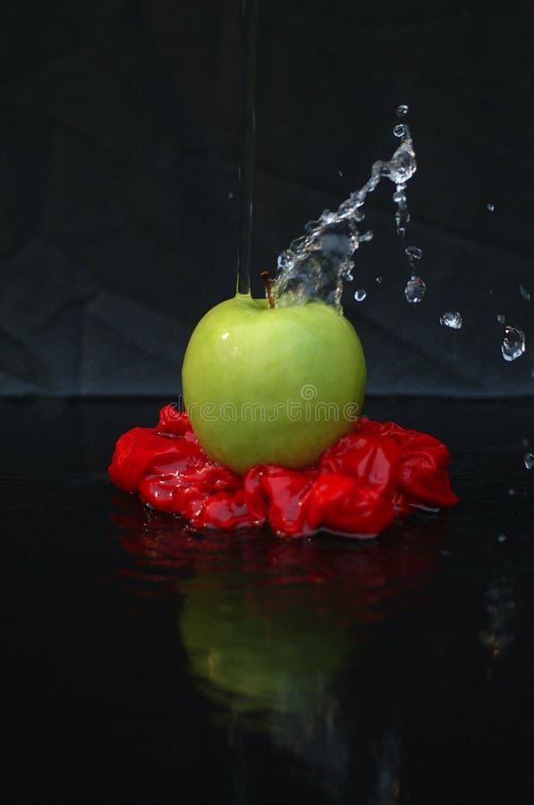 Apple Konst Fotografering för Bildbyråer