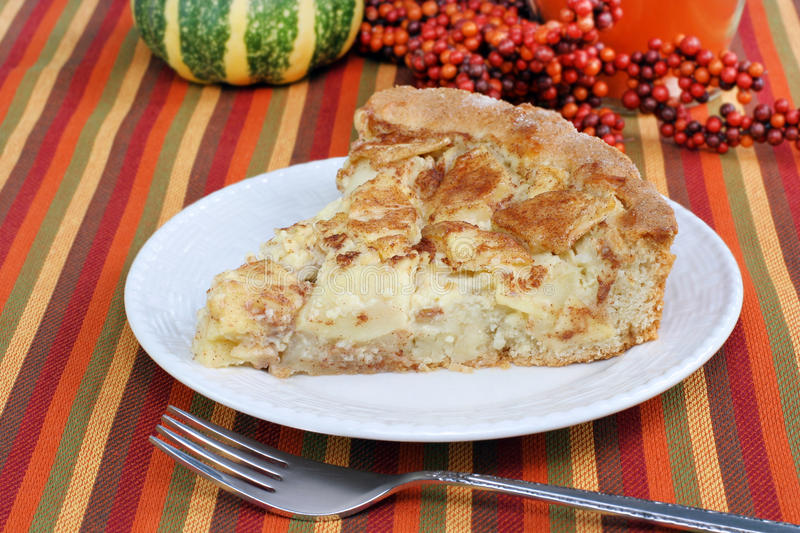 Apple Kuchen Cake royalty free stock photo
