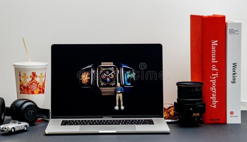 Apple lanseringsiPhone maximal X s och X R arkivbilder