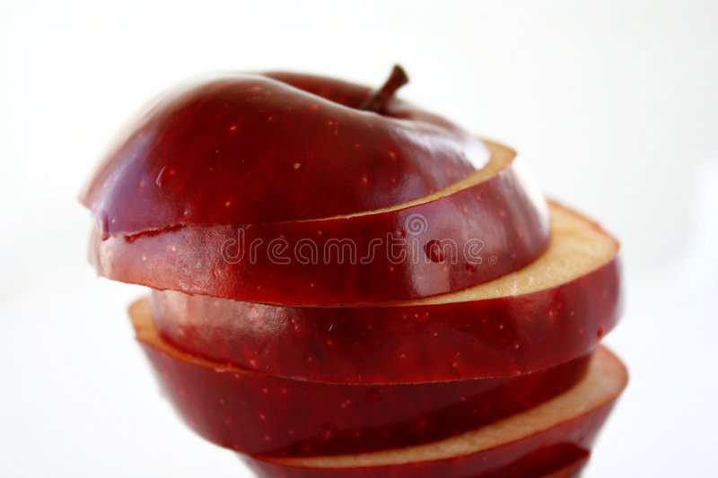 Download Apple layers stock image. Image of fruits, deluxe, white - 972811