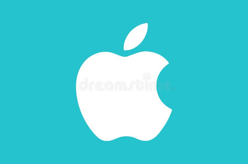 Apple Logo Editorial Vector Illustration illustration de vecteur