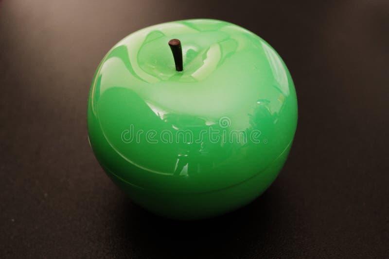 Apple lustroso verde, Apple brilhante fotos de stock