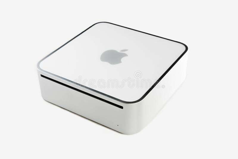 Apple Mac Mini royalty-vrije stock foto
