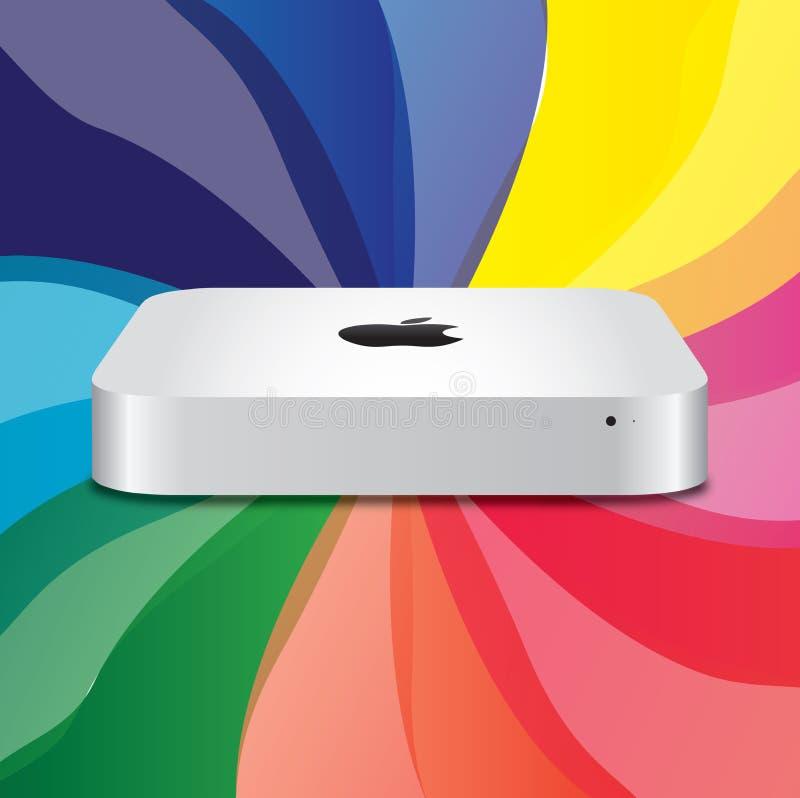 Apple Mac neuf mini   illustration libre de droits