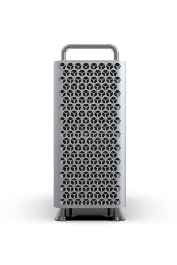 Apple Mac Pro 2019 skrivbordsADB-system, framdel vektor illustrationer