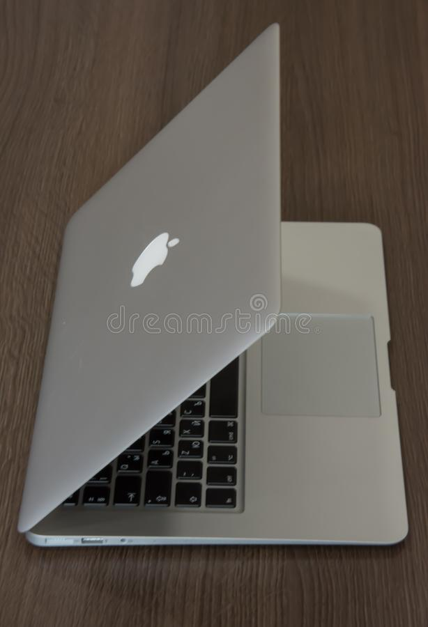 Apple Macbook royalty free stock photos