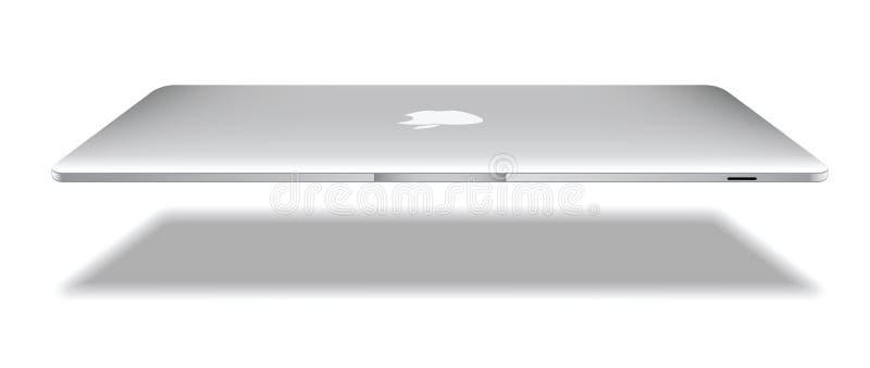 Apple macbookluft royaltyfri illustrationer