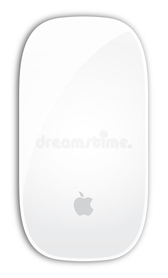 Download Apple Magic mouse editorial stock photo. Image of computers - 22050393