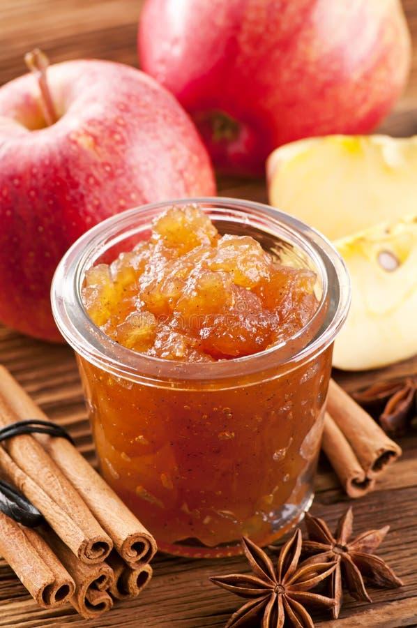 Apple maramalade stock photos