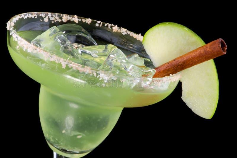 Apple Margarita - la mayoría de la serie popular de los cocteles foto de archivo libre de regalías