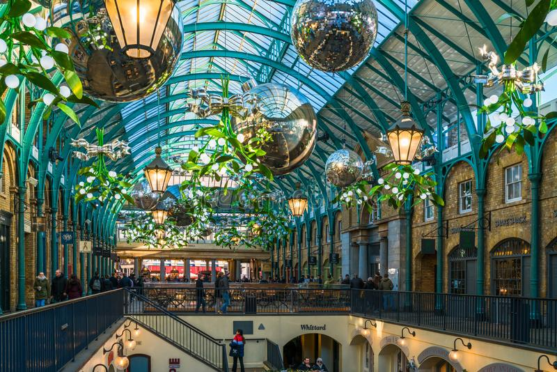 Apple Market in Covent Garden royalty free stock images